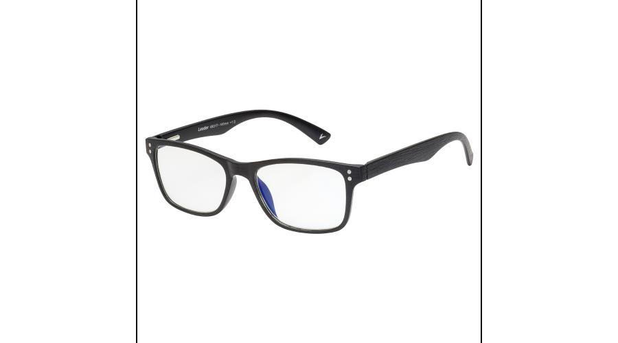 BLU-BAN GLASSES 5505 BRUSH BLACK PLANO