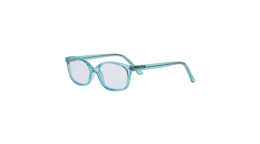 Blu-Ban Glasses Caroline Teal Plano