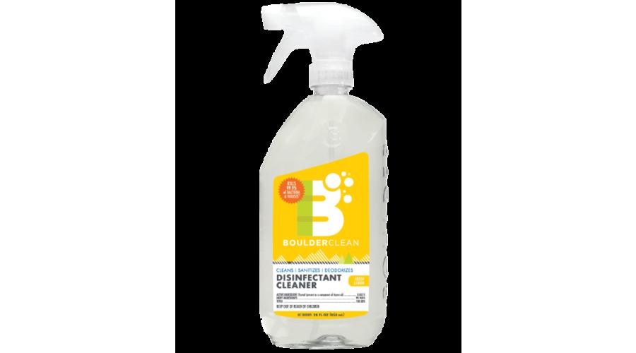 Boulder Clean Disinfectant Spray Lemon 28Oz Ea