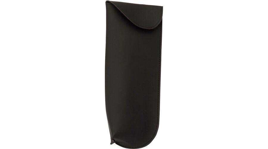 CASE:SAFETY, SOFT XL W/CLIP & FLAP, BLACK IMP