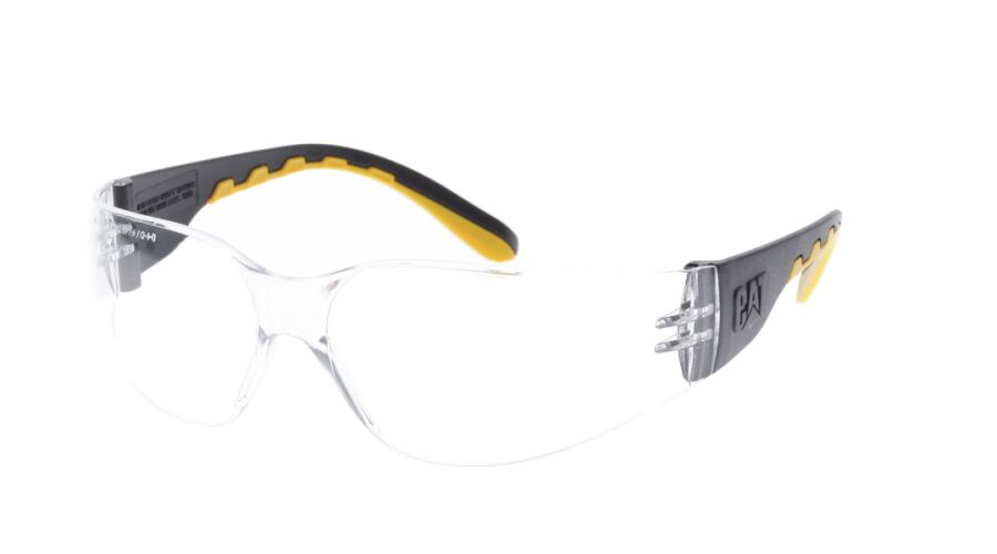 CAT PLANO TRACK-100 BLACK WITH CLEAR LENS