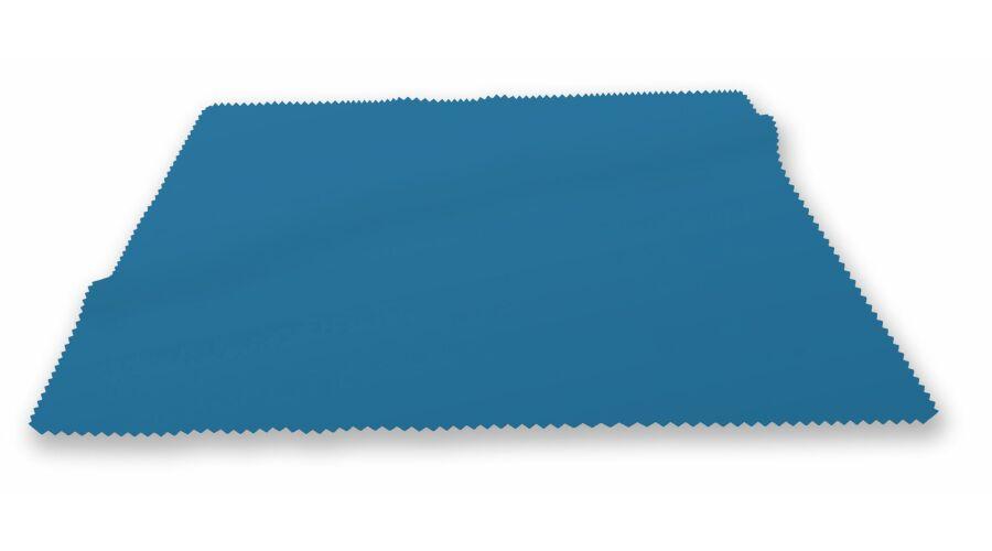 "CLOTH: SILKY MICROFIBER 6""X6"" OCEAN BLUE STOCK"