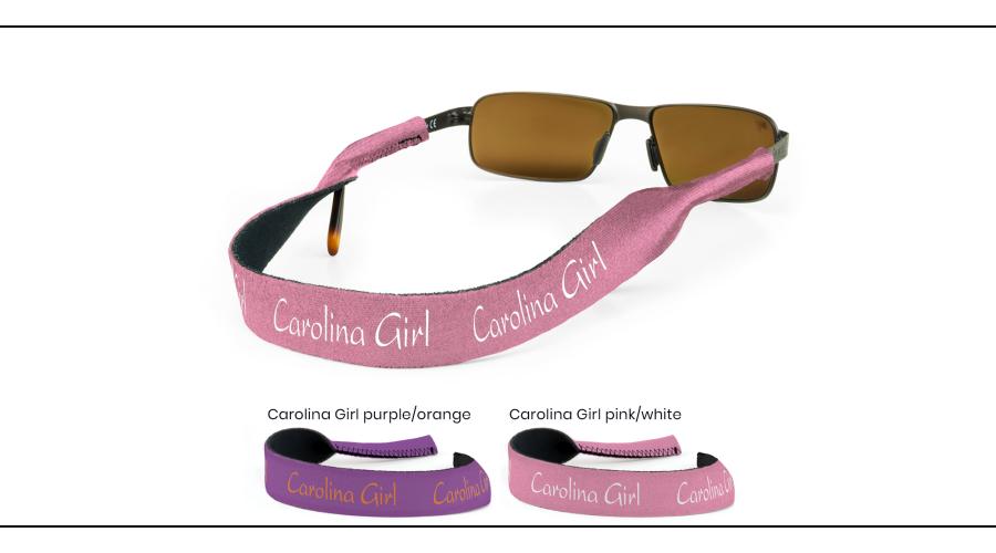 CROAKIES: CAROLINA GIRL PURPLE/ORG