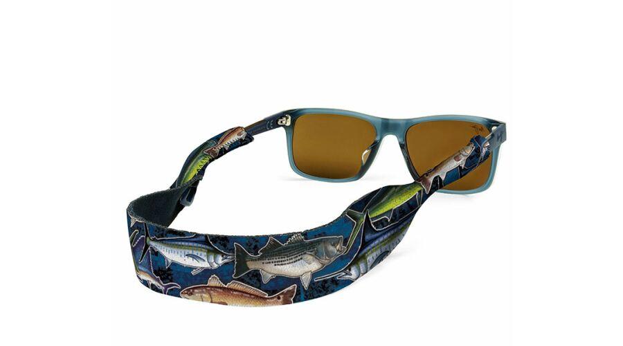 CROAKIES: CROAKIES XL FISHING PRINT OFFSHORE BLUE