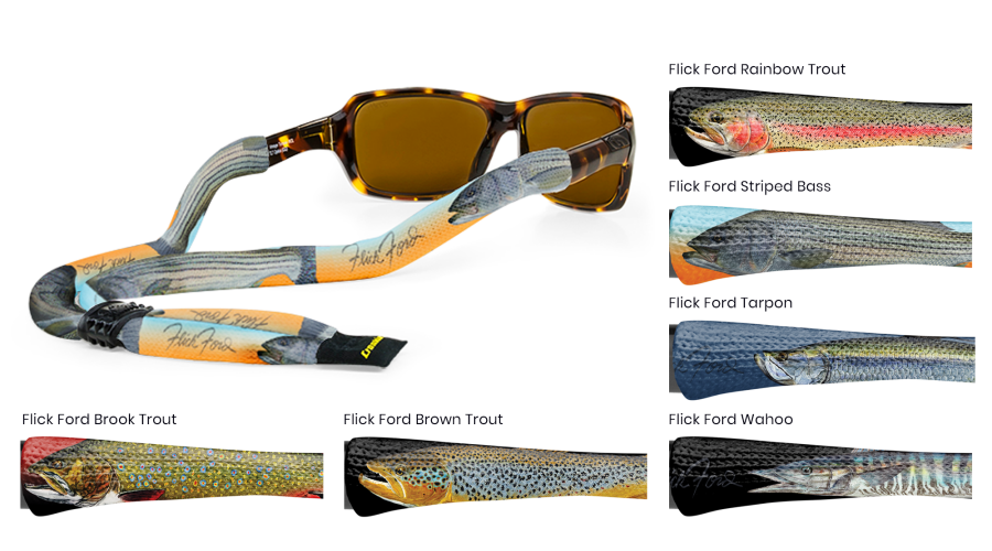 CROAKIES: POLY XL SUIT. FLICK FORD BROWN TROUT