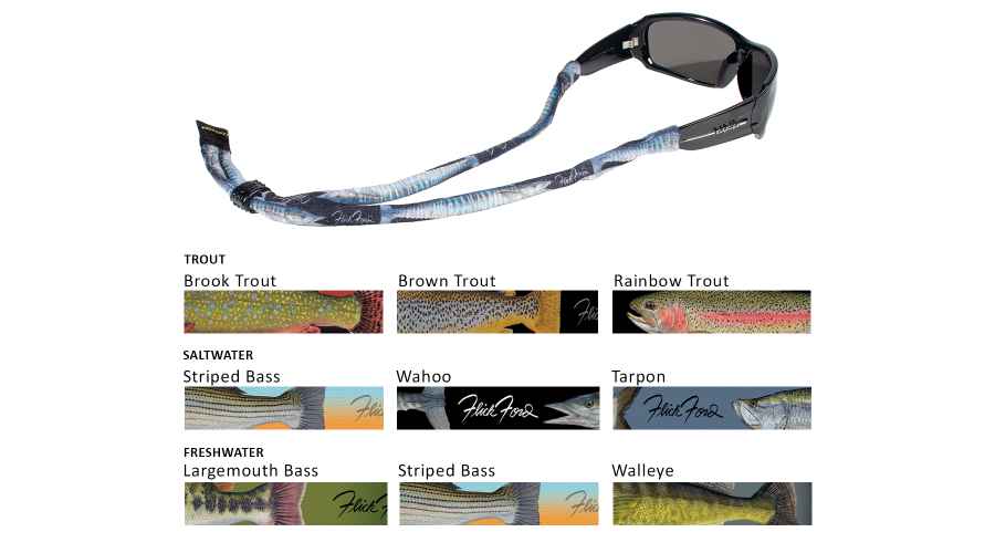 CROAKIES: POLY XL SUIT. FLICK FORD LRG MOUTH BASS