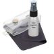 Classic Kit, Silk Screen Silver bottle with Black Pump, Purple Cloth