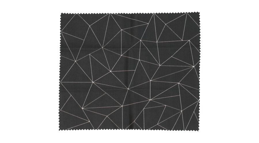 Cloth: Designer Black Diamonds 6 X 7 Stock