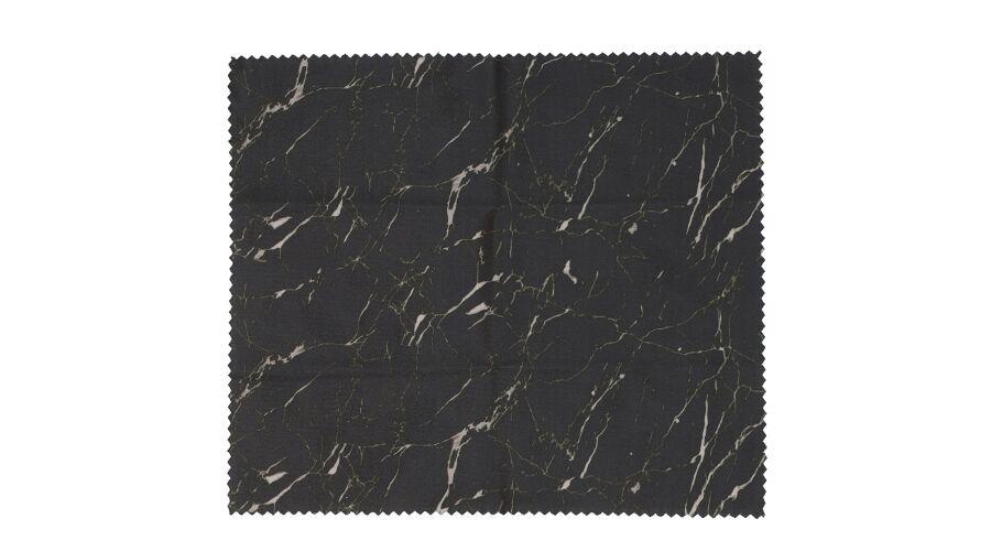 Cloth: Designer Black Marble 6 X 7 Stock
