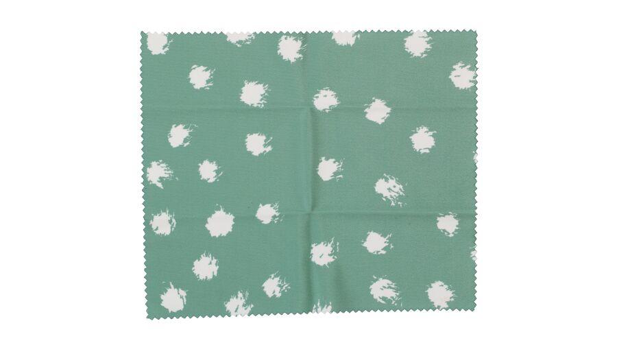 Cloth: Designer Green Dots 6 X 7 Stock