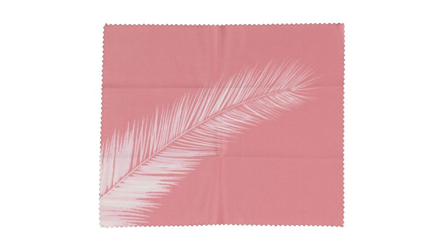 Cloth: Designer Pink Feather 6X 7 Stock