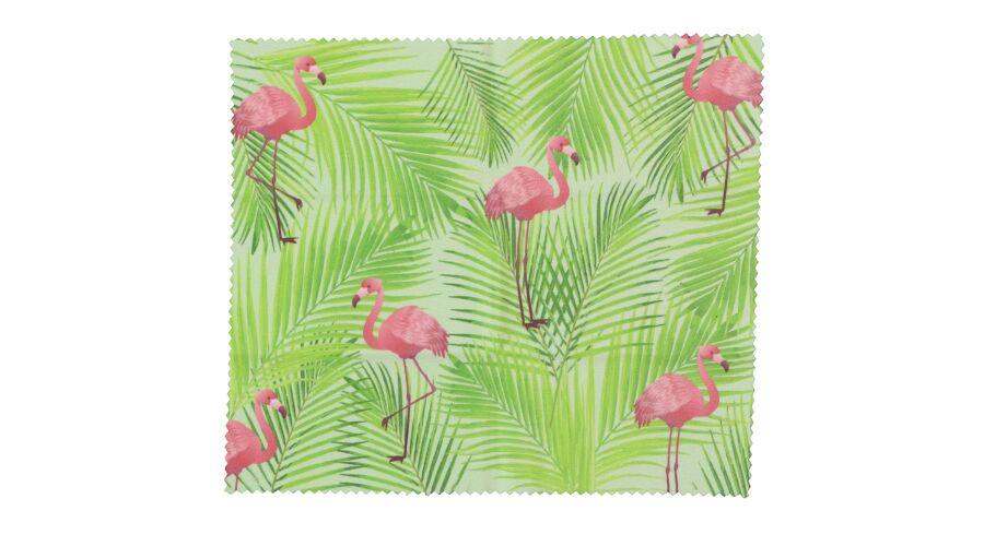 Cloth: Designer Tropical Flamingo 6 X 7 Stock
