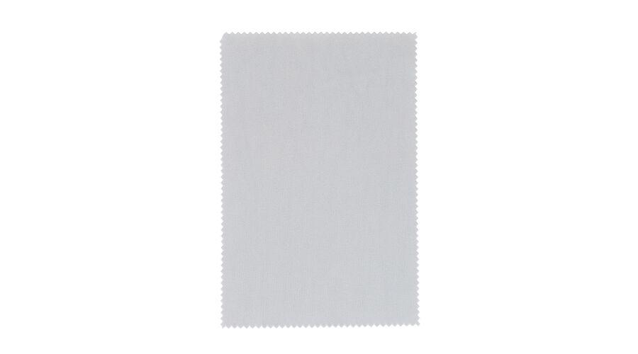 "Cloth: Silky Eco Microfiber 6""x6"" Grey Stock"