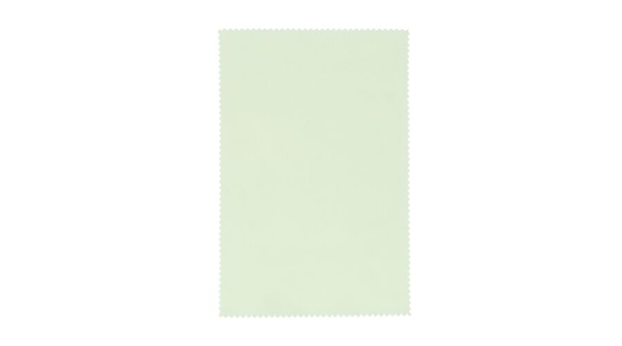 "Cloth: Silky Eco Microfiber 6""x6"" Lt. Green Stock"