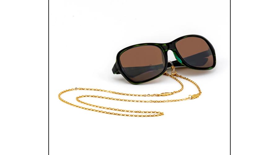 Croakies: Fashion Chain Gold Leaf Spec
