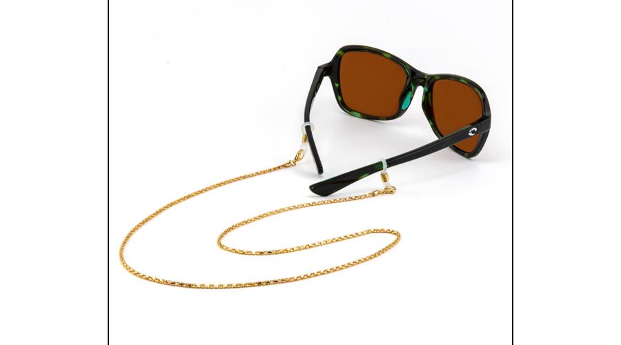 Croakies: Fashion Chain Gold Siena Spec End