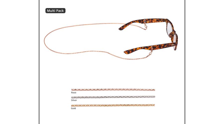 Croakies: Fashion Chain Mix Siena Spec End