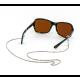 Croakies: Fashion Chain Silver Siena Spec End