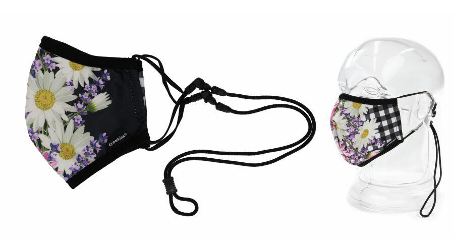 Croakies Mask Daisy Mix Terra System Combo Reg/Xl