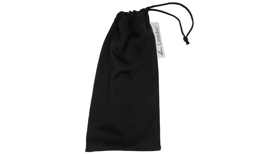 DRAWSTRING CARRYING POUCH BLACK