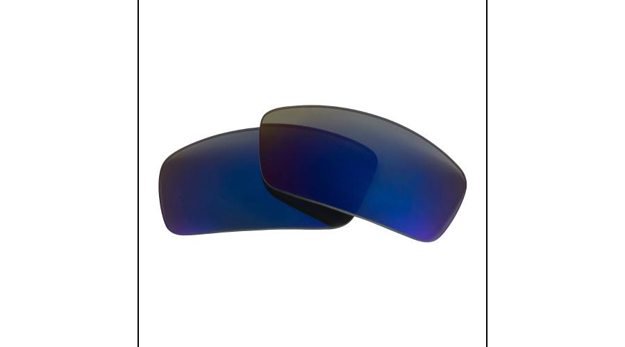 EDGED 8 BASE PC/POL LENS: RATTLER GRAY W/BLUE MIRROR 1PR