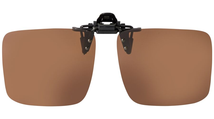 FLIP-UP TRIMMABLE BROWN POLARIZED 61-13