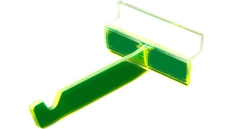 FRAME HOOKS PK6 GREEN MDS