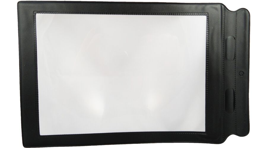 """FULL PAGE FRESNEL MAGNIFIER 8.5"""" X 11"""