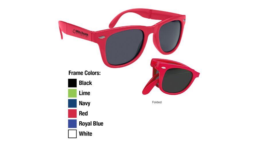 Foldable Promotional Sunglasses