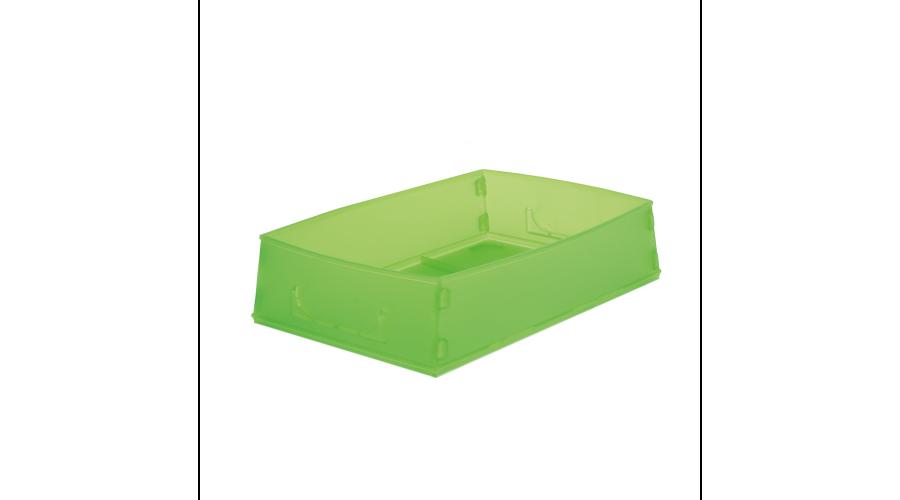 GREEN FLAT PACK RX JOB TRAYS - 10PCS