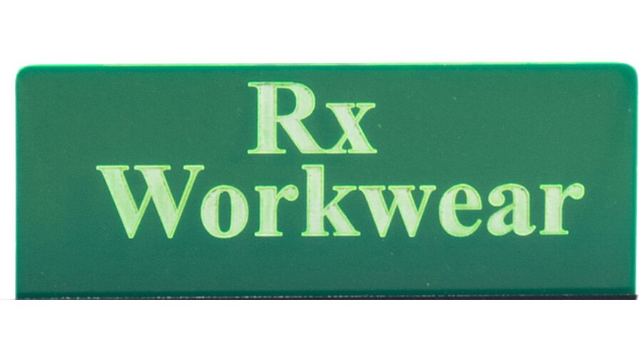 HEADER PANEL AND SIGN RX WORKWEAR MDS
