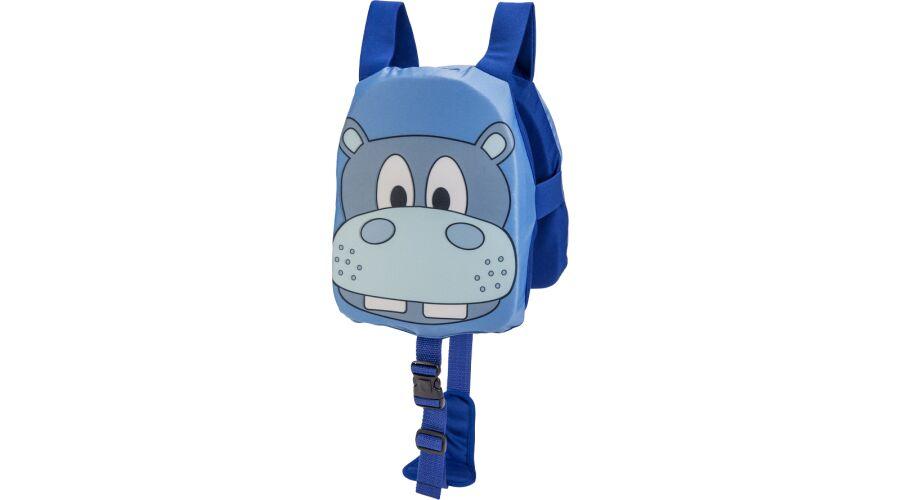 KIDS' FLOAT TRAINER BLUE HIPPO