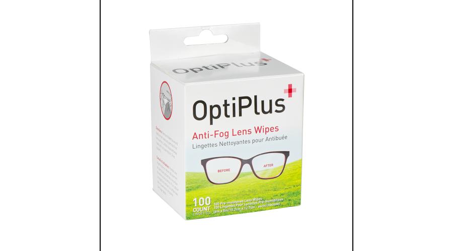 OPTIPLUS 100 CT ANTI-FOG WIPES