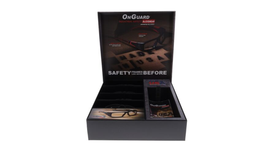 Onguard Made In Usa 5 Place Frame Case, Loaded