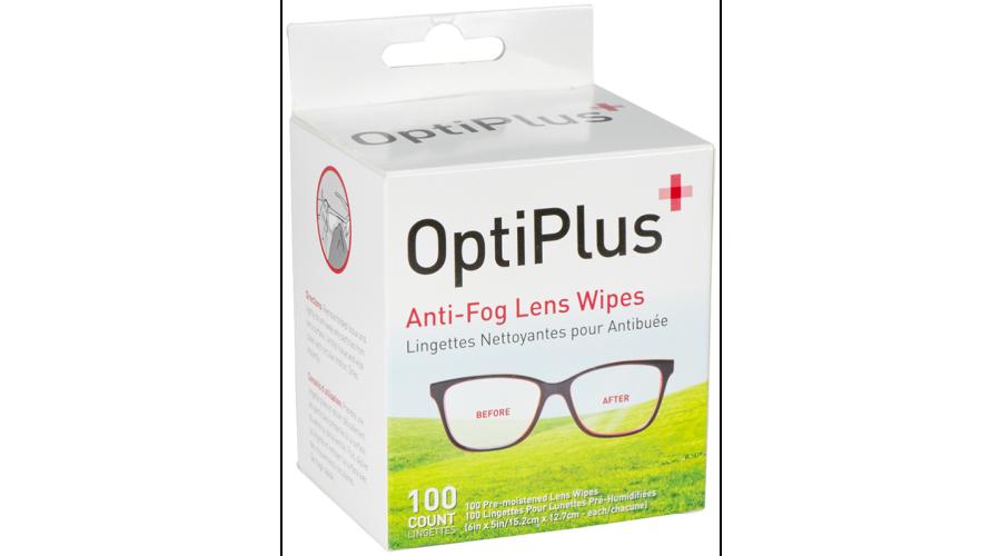 Optiplus Antifog Dispensing Replenishment Prepack 100Ct