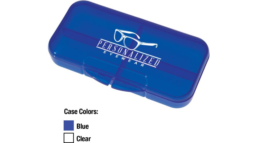 PERSONALIZED RECTANGLE SHAPE PILL CASE