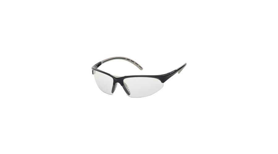 PRO SPORT, SILVER MIRROR LENS/BLACK FRAME, SILVER ACCENTS