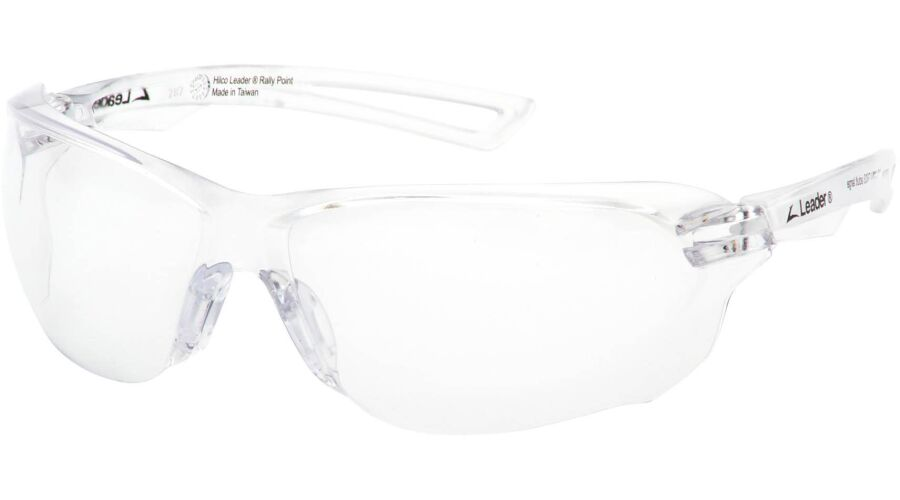RALLY POINT CLEAR AF LENS/CLEAR FRAME STANDARD NASAL