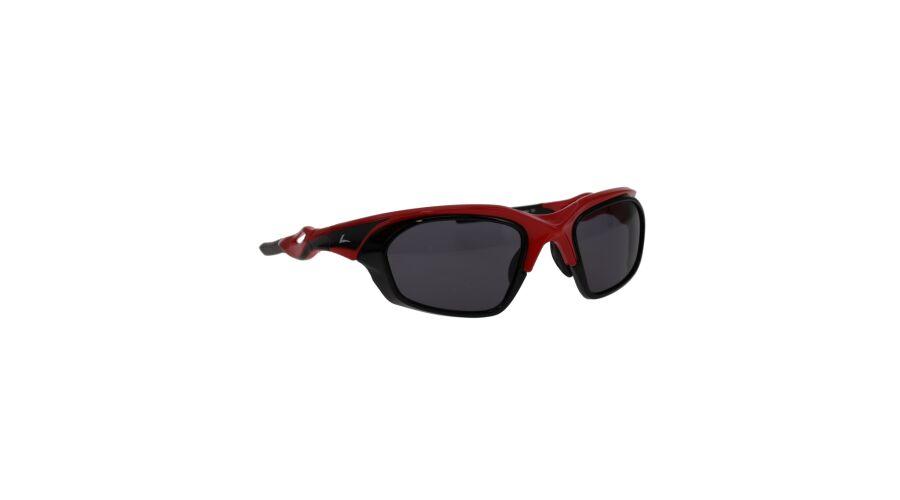 RX SUN - BREAKAWAY SHINY RED/BLACK W/GRAY LENS