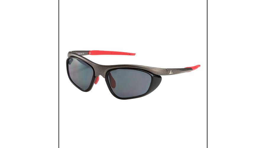 RX SUN - PELOTON MATTE GRAPHITE/RED W/GRAY LENS