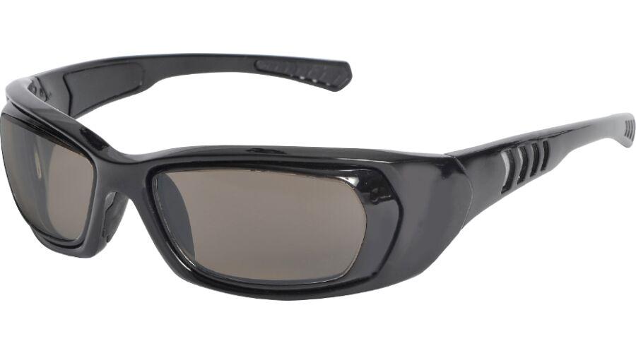 RX SUN - REFLECTIVE BLACK W/GRAY LENS