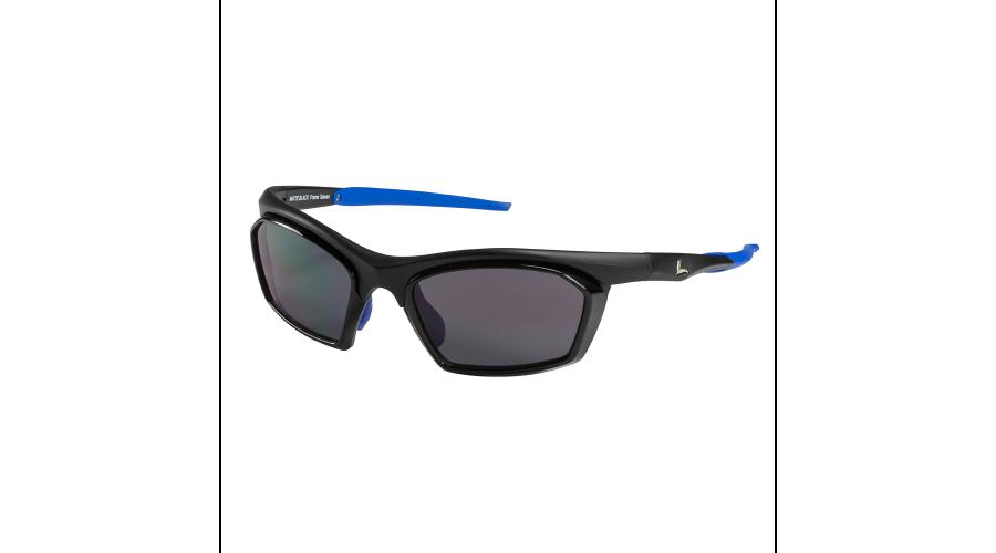 RX SUN - TRACKER MATTE BLACK/BLUE WITH GRAY LENS