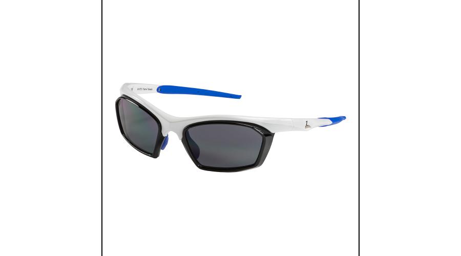 RX SUN - TRACKER SHINY WHITE/BLUE WITH GRAY LENS
