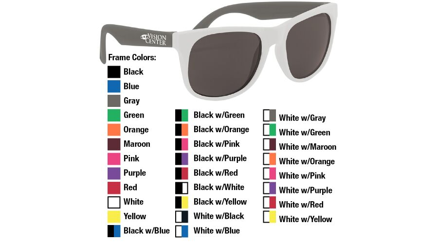 Rubberized Promotional Sunglasses