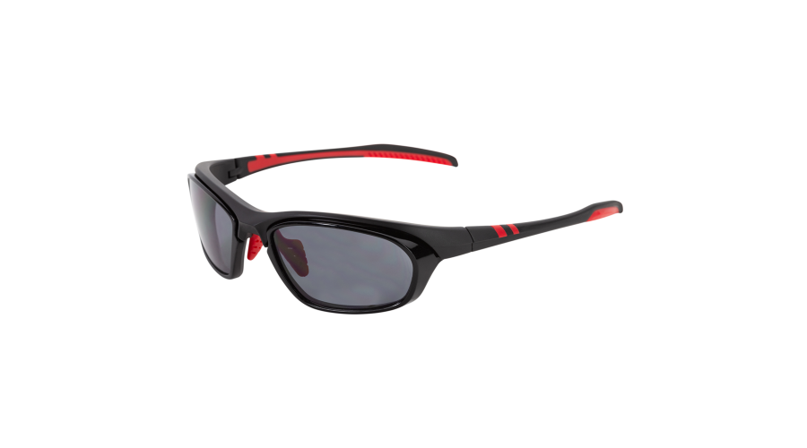 Rx Sun -Slipstream Matte Black/red W/gray Lens