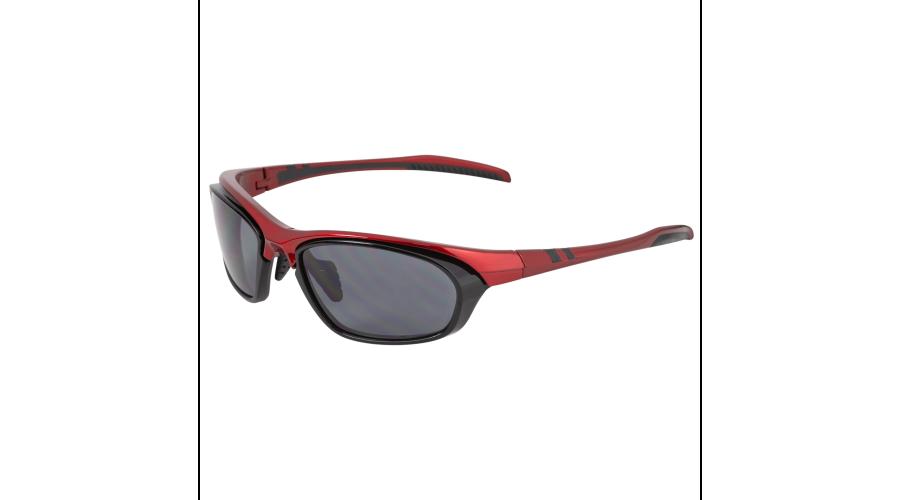 Rx Sun -Slipstream Shiny Red/black W/gray Lens