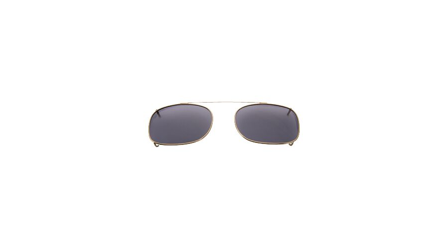 SUNCLIPS: REC,44MM,ANT.GLD/GRAY