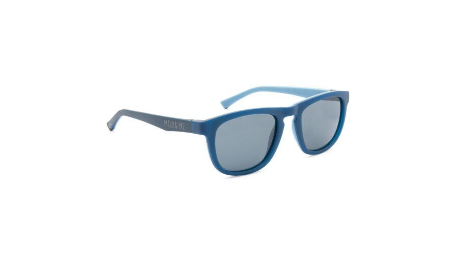 Sun Milo & Me 84051 Dk Blue/lt Denim Polarized Grey 47-19