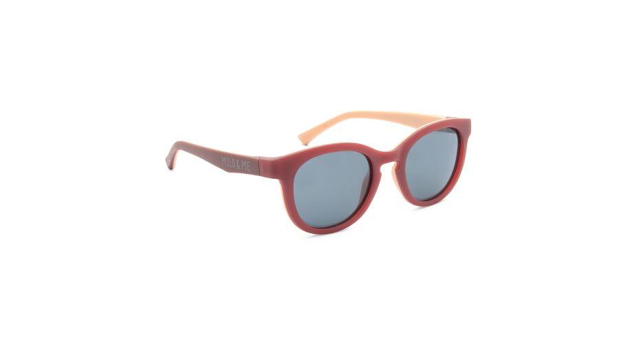 Sun Milo & Me 84070 Dusky Pink/peach Polarized Grey 44-18