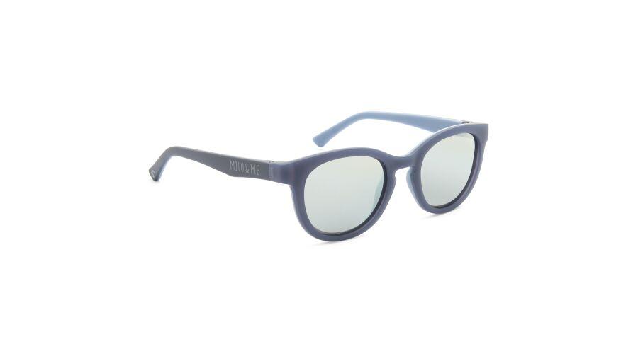 Sun Milo & Me 84070 Grey Blue/lt Grey Bl Polarized Silver Mi